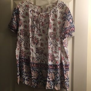 Summer or spring Blouse, short sleeved, 1X